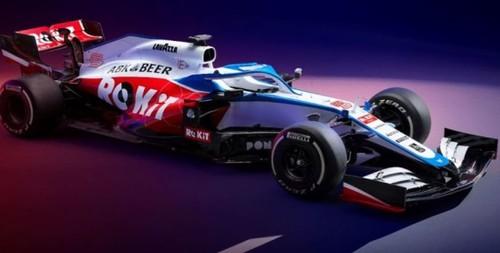 ФОТО. Команда Ф-1 Уильямс показала болид в новых цветах