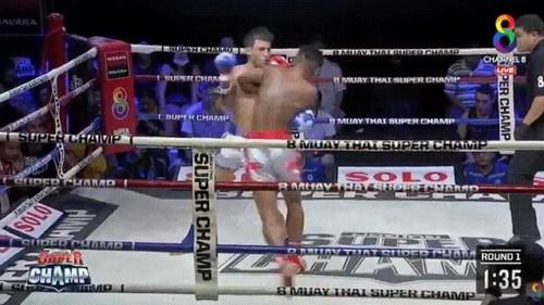 ВІДЕО. Знищив лівим боковим! Потужний нокаут на турнірі в Таїланді