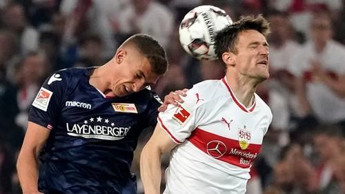 Штутгарт и Унион Берлин сыграли вничью в игре за путевку в Бундеслигу