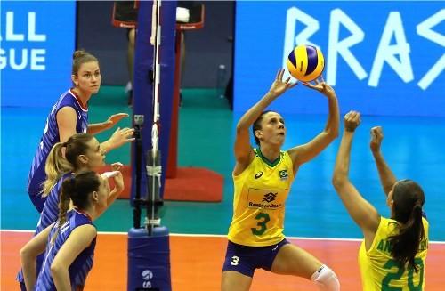 Завершился первый тур женской волейбольной Лиги Наций