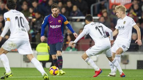 Барселона — Валенсия. Текстовая трансляция матча