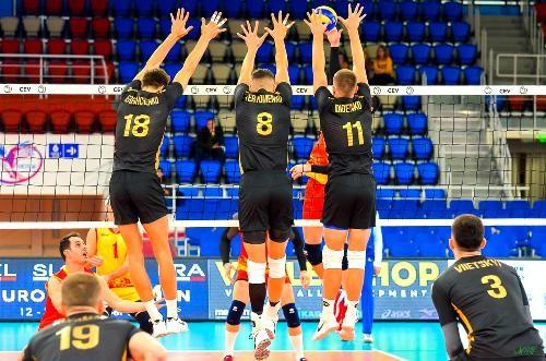 Первый экзамен для украинских волейболистов пройдет в Финляндии