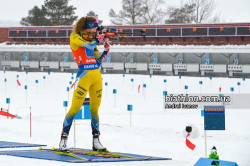 Эберг выиграла Малый Кубок мира в индивидуальных гонках