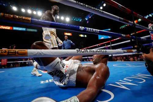 ВИДЕО. Мощный удар Уайлдера признан WBC лучшим нокаутом 2019 года