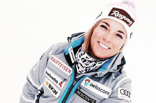 Горные лыжи. Гут-Бехрами выиграла скоростной спуск в Кранс Монтане