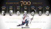 ВІДЕО. Овечкін закинув 700 шайбу в НХЛ