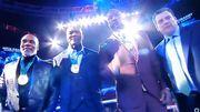 ВИДЕО. Тайсон, Льюис и Холифилд получили награды перед боем Фьюри-Уайлдер