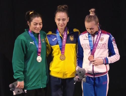 Диана Варинская победила на этапе Кубка мира в Мельбурне