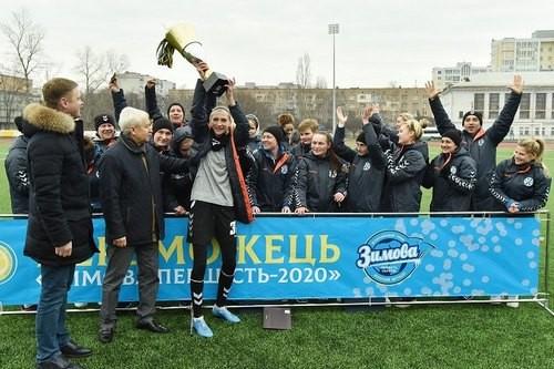 Жилстрой-1 стал чемпионом Зимнего первенства-2020 среди женских команд