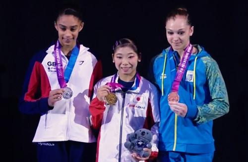 Анастасія Бачинська виграла бронзу на етапі Кубку світу в Мельбурні