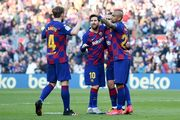 Барселона впервые с 1962 года обошла Реал по голам в чемпионате Испании
