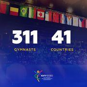 На Евро-2020 по художественной гимнастике в Киеве будет рекорд участниц