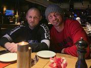 ФОТО. Кенты вместе! Милевский и Алиев засветились в киевском ресторане