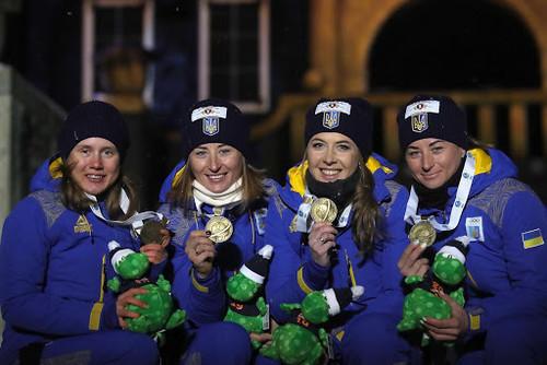 Украина заняла 8 место в медальном зачете чемпионата мира-2020 по биатлону