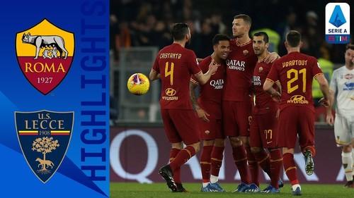 Рома – Лечче – 4:0. Видео голов и обзор матча