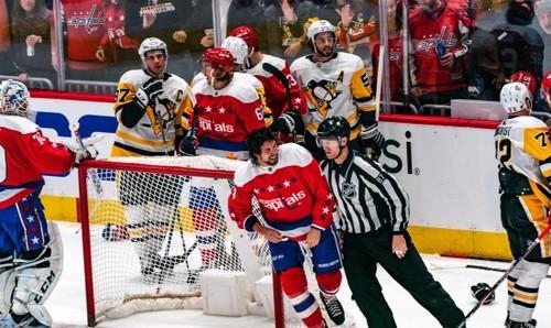 НХЛ. Вашингтон обыграл Питтсбург, победы Айлендерс, Эдмонтона и Вегаса