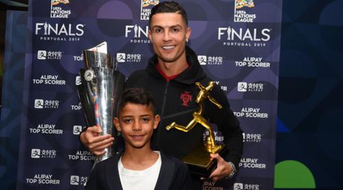 Роналду-младший завел себе страницу в Instagram и собрал уйму подписчиков