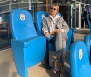 ФОТО. Как невеста Зинченко болела за Манчестер Сити в Мадриде