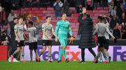 Пятов провел 40-й матч в Лиге Европы