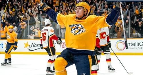 ВИДЕО. Форвард НХЛ сравнял счет за 0,1 секунды до конца и забил в овертайме
