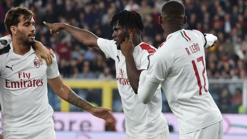 Где смотреть онлайн матч чемпионата Италии Милан – Дженоа