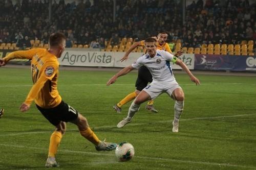 Львов в меньшинстве отыгрался в матче с Александрией