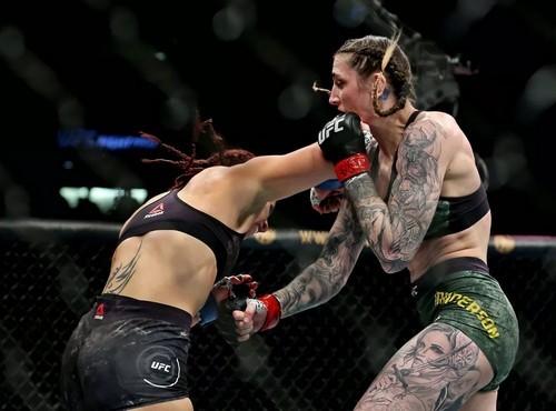 UFC Fight Night 169. Меган Андерсон – Норма Дюмон. Видео нокаута