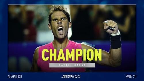 Акапулько. Надаль выиграл 85-й титул в карьере