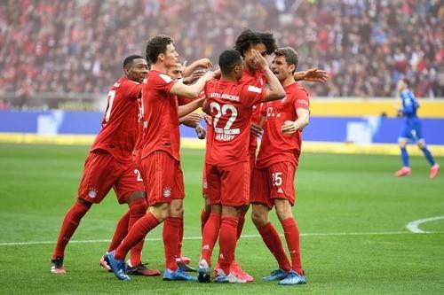 Хоффенхайм — Бавария — 0:6. Видео голов и обзор матча