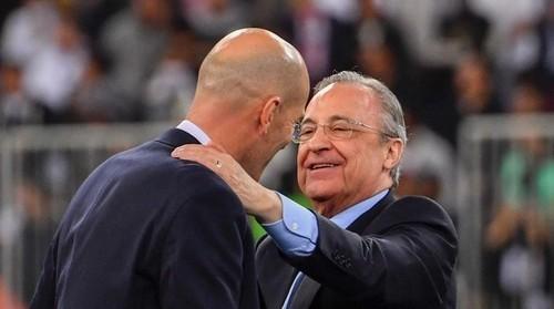 Президент Реала зустрівся з Зіданом