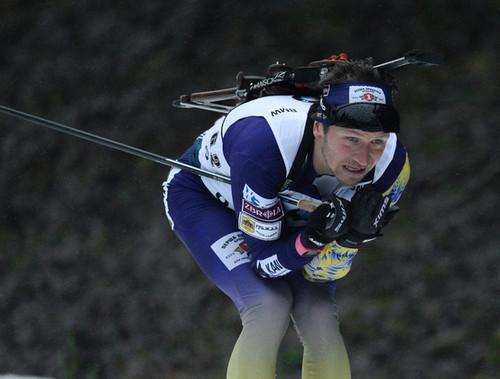 Сергей СЕМЕНОВ: «Не очень доволен гонкой, тяжелое стрельбище»