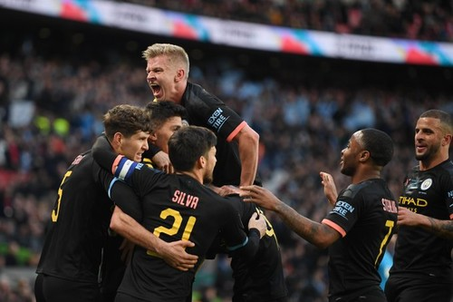 Манчестер Сити обыграл Астон Виллу в финале Кубка лиги