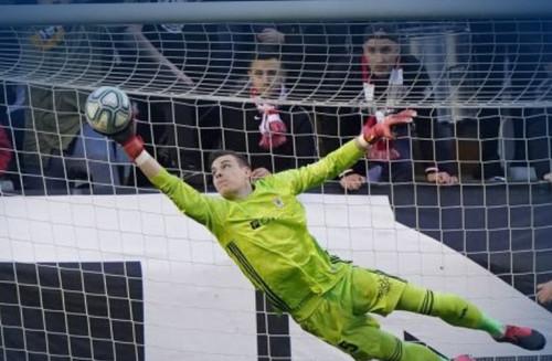 Лунин сыграл первый матч на ноль за Овьедо