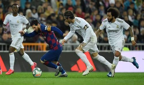 Реал выиграл у Барселоны битву на Сантьяго Бернабеу