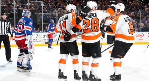 НХЛ. 6 подряд победа Филадельфии, успех Вашингтона, поражение Вегаса