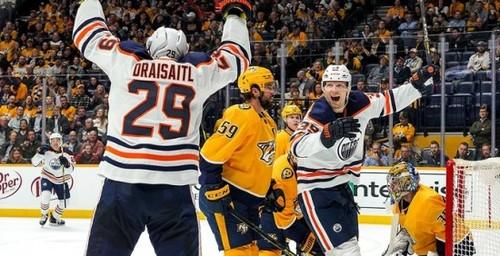 НХЛ. 8 шайб Эдмонтона, 4 гола Драйзайтля, успех Колорадо