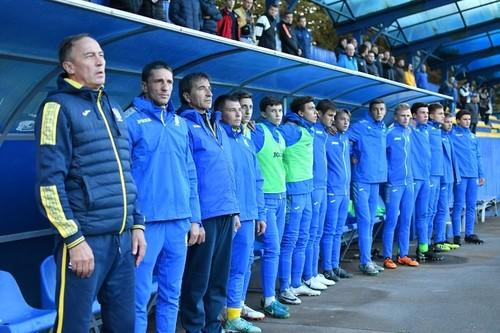 Сборная Украины U-16 проиграла Израилю на Кубке Развития