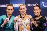 Украинские гимнастки выиграли медали на соревнованиях в Хорватии
