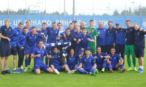 Динамо U-21 выиграло молодежный чемпионат