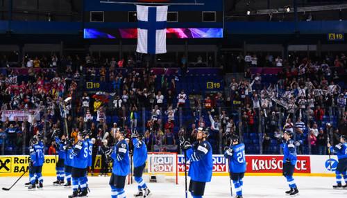 ЧМ по хоккею. Финляндия в полуфинале выбила Россию