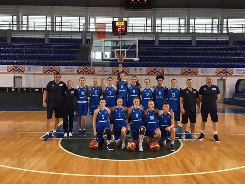 Женская сборная Украины обыграла Черногорию в товарищеском матче