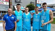 Юношеская сборная Украины U-18 победила на турнире 3x3 в Словакии