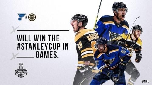 НХЛ. Промо финальной серии Кубка Стэнли Бостон - Сент-Луис