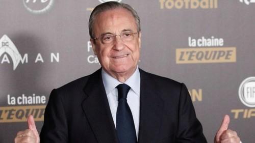 Флорентино ПЕРЕС: «Надеюсь, Азар перейдет в Реал летом»