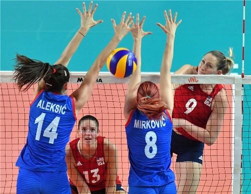 Волейбольная Лига Наций. Женщины. Результаты матчей второго тура