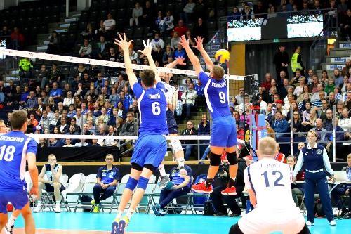 Украинские волейболисты в Золотой Евролиге снова сыграют на выезде