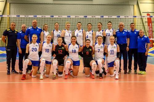 Українські волейболістки впевнено перемогли Швецію
