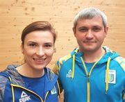 Костевич и Омельчук завоевали серебро на этапе Кубка мира в Мюнхене