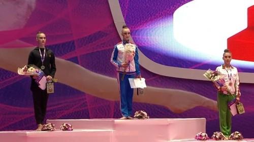 Украинские гимнастки выиграли три золота на Гран-при в Израиле