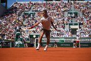 Федерер сыграл 400-й матч на Шлемах